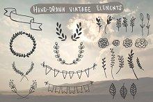 Hand-Drawn Vintage Elements