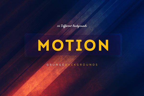 16 Motion Grunge Backgrounds