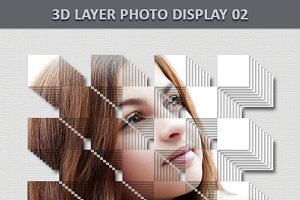3D Layer Photo Display 2