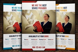 Fabulous corporate Flyer template