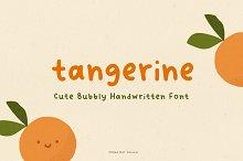 Tangerine - Cute Handwritten Font