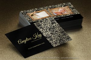 Shabby Vintage Luxy Business Card