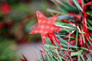 espumillon con estrellas