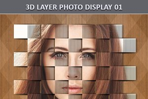 3D Layer Photo Display 1
