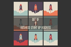 Start Up Business rocket