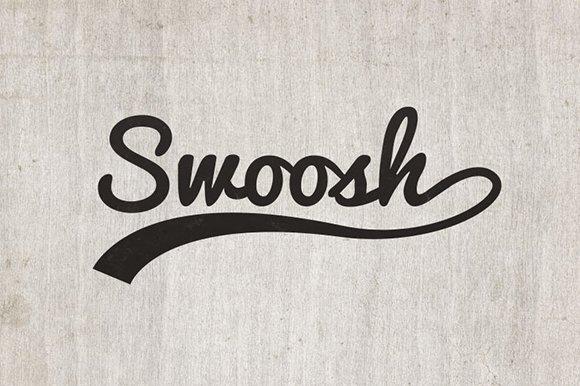 Font Tails Svg Vector Text Tails Font Swoosh Text Swoosh: Vector Swooshes For Type