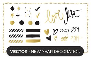 Vector: New Year Decoration