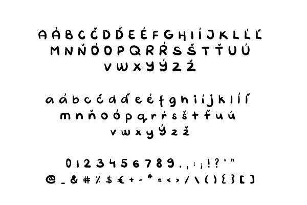 Artistic Handy Font - Handwritten