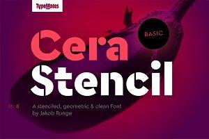 Cera Stencil Basic Black