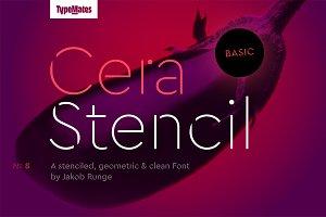 Cera Stencil Basic Thin