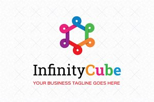 Infinity Cube Logo Template