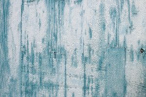 Grunge light blue painted texture