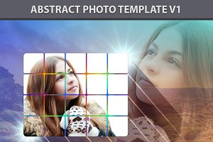 Abstract Photo Template V1