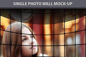 Single Photo Wall Mock-up