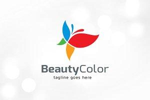 Beauty Color Logo Template