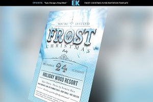 Frost Christmas Flyer Template