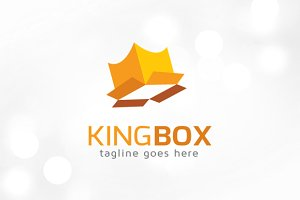 King Box Logo Template