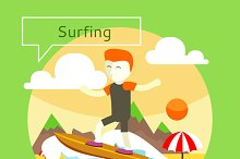 Surfing concept