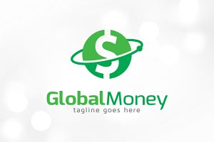 Global Money Logo Template