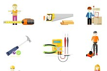 Icons Set of Tools Series