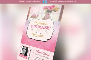 Woman's Prayer Breakfast Flyer