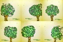 Abstract autumn tree illustration