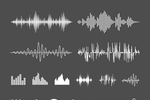 Sound waveforms