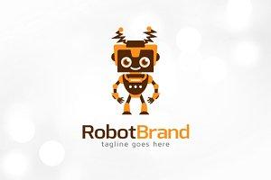 Robot Brand Logo