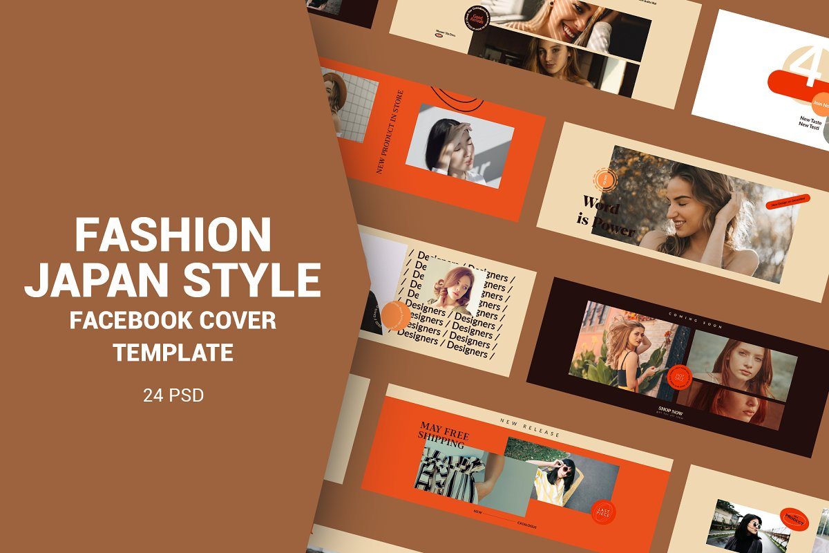 Fashion Japan Style Facebook Cover