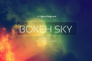 Bokeh SKY Backgrounds v3