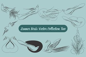 Zanner Birds Vector Collection Two