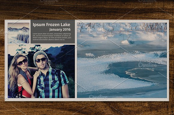 Travel Photo Album Template 7\