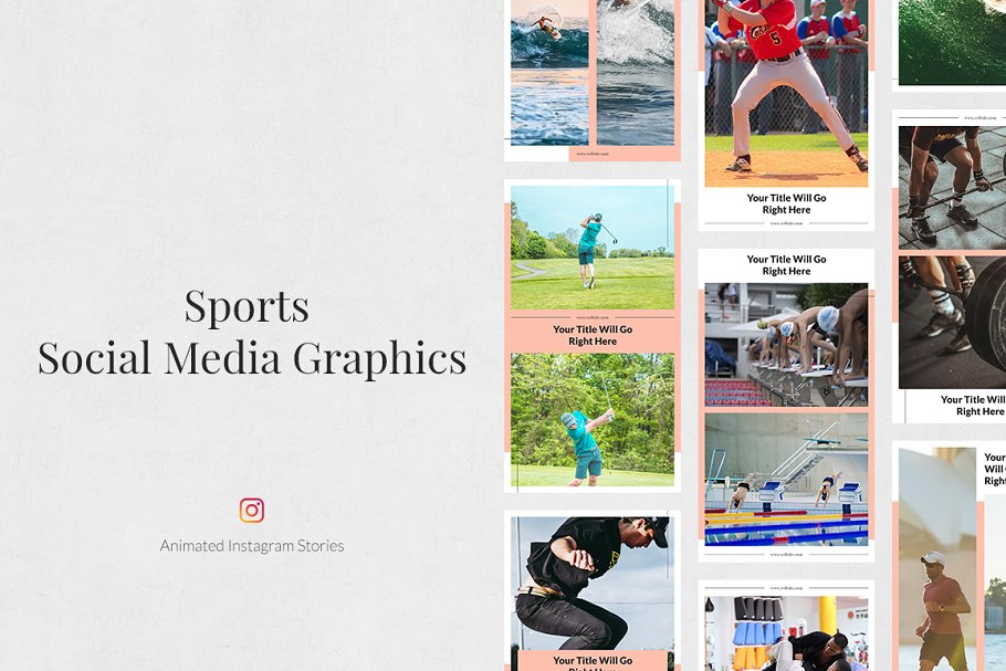 Sports Animated Instagram Stories in Instagram Templates