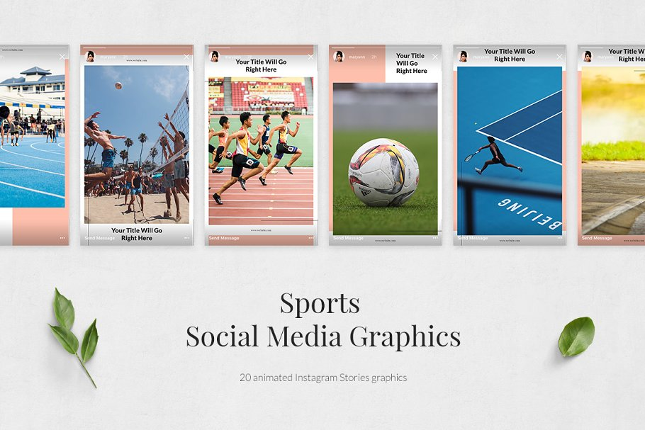 Sports Animated Instagram Stories in Instagram Templates - product preview 1