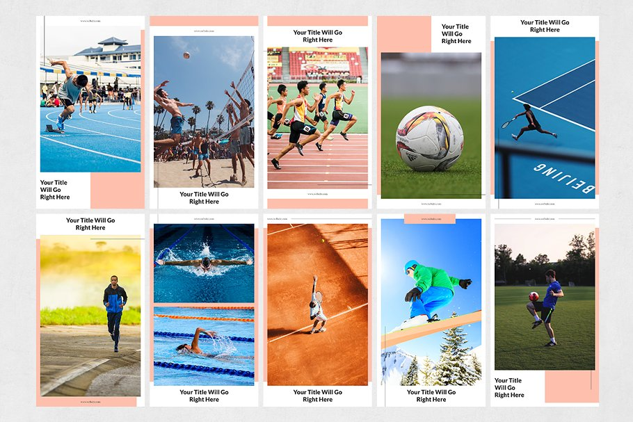 Sports Animated Instagram Stories in Instagram Templates - product preview 6