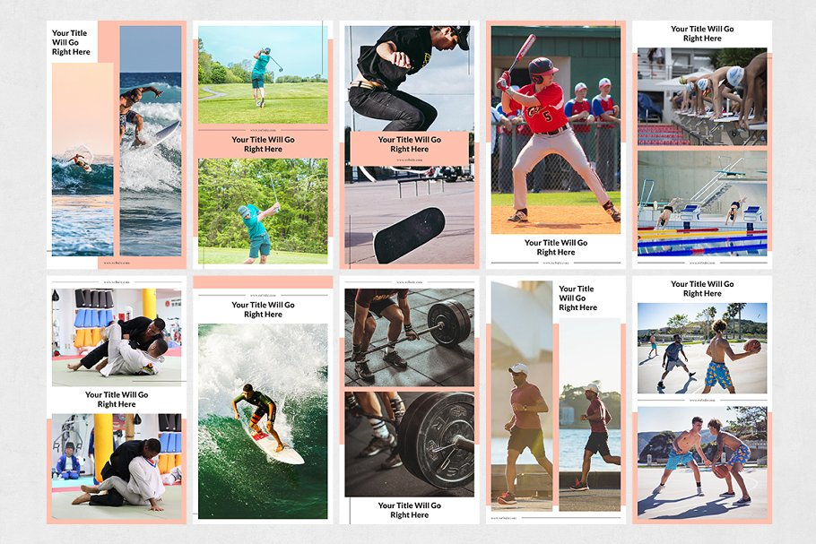 Sports Animated Instagram Stories in Instagram Templates - product preview 7