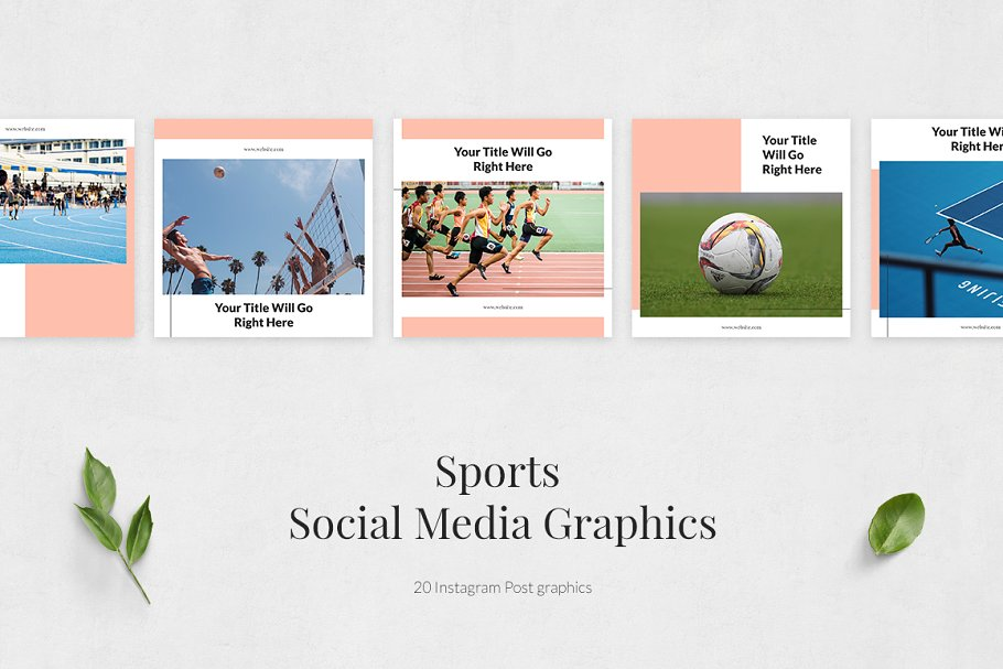 Sports  Instagram Posts in Instagram Templates - product preview 1