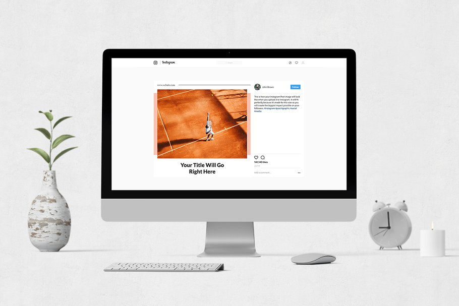 Sports  Instagram Posts in Instagram Templates - product preview 3