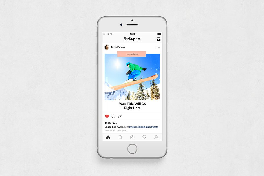Sports  Instagram Posts in Instagram Templates - product preview 5