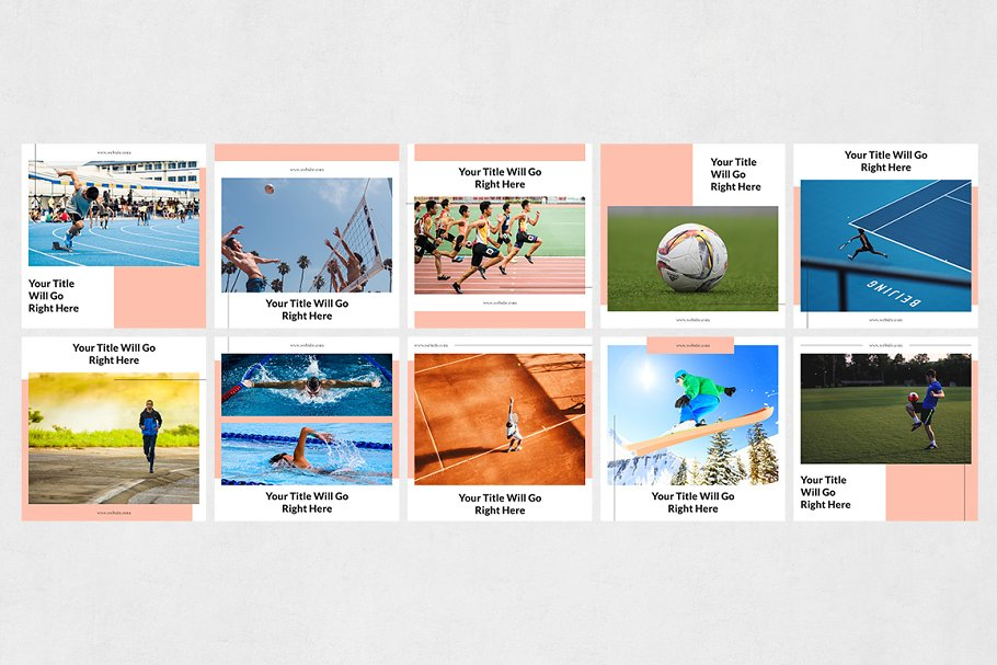 Sports  Instagram Posts in Instagram Templates - product preview 6