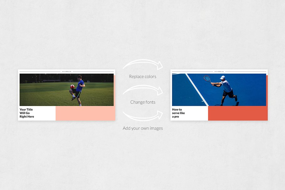 Sports Facebook Posts in Facebook Templates - product preview 4