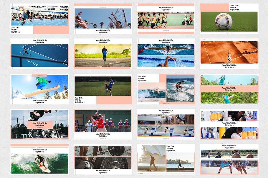Sports Facebook Posts in Facebook Templates - product preview 6