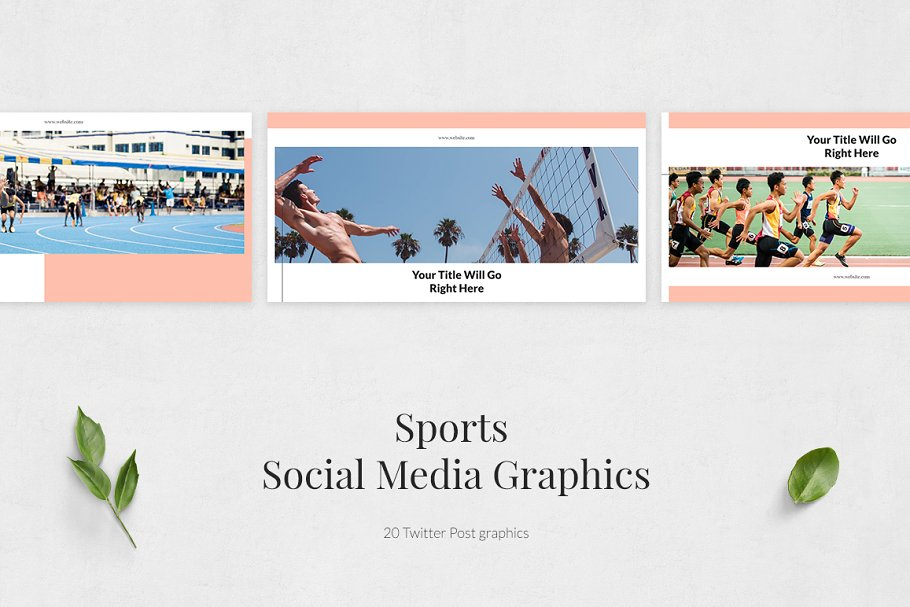 Sports Twitter Posts in Twitter Templates - product preview 1