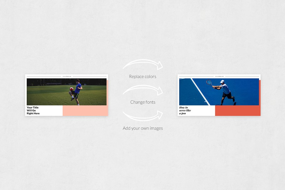 Sports Twitter Posts in Twitter Templates - product preview 4