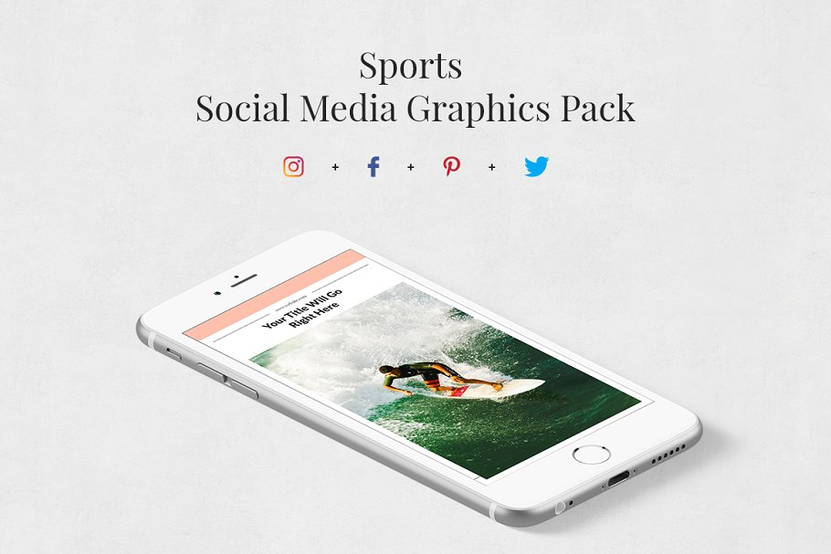 Sports Pack in Social Media Templates