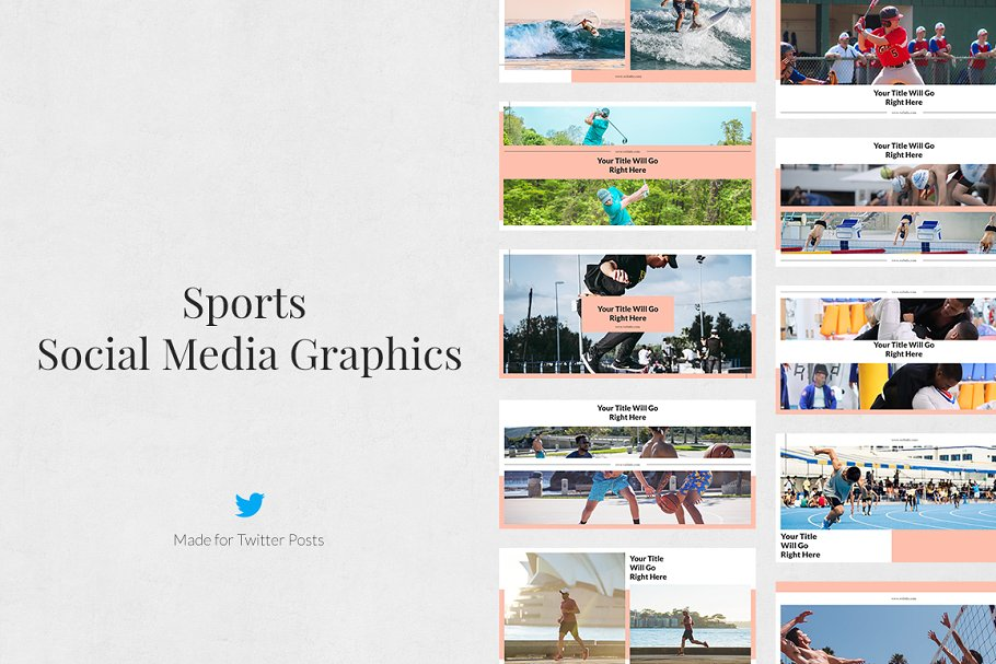 Sports Pack in Social Media Templates - product preview 6