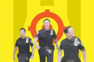 Police guy #3