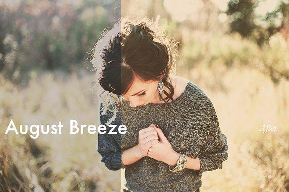 August Breeze - Lightroom Preset