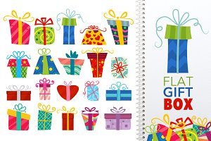 Flat Gift Box Set