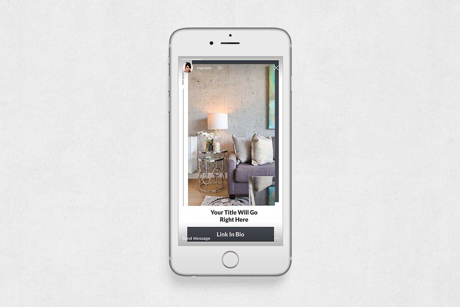 Interior Instagram Stories in Instagram Templates - product preview 5